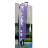 Quality Advertising exhibition event Feather Flag Banners H4m / 13ft Size for sale