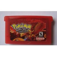 China Pokemon Shiny Gold Version GBA Game Game Boy Advance Game Free Shipping wholesale