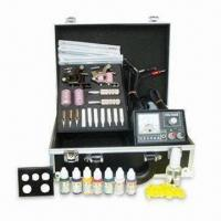 China Professional Tattoo Kit, Includes Guns, Power, Needles and Ink wholesale