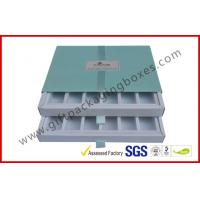 China Custom size / design paper drawer shape box  , essence / nail polish bottle set package  wholesale