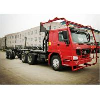Buy cheap SINOTRUK HOWO 6*6 Truck Heavy Duty Semi Trailers for Log Carrier Truck Log Transport from wholesalers
