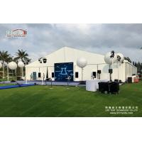 China Flame Retardant Outdoor Event Tents / Clear Span 10 x 30 Party Tent on sale