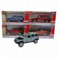 China Die-cast Toys with 63 x 30 x 89cm Carton Size wholesale