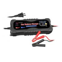 China Smart Auto Starter Automatic Car Battery Charger 12 Volt / 24 Volt wholesale