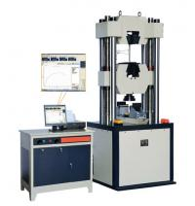 China 300/600/1000kN Servo Control Electro-hydraulic Universal Testing Machine on sale