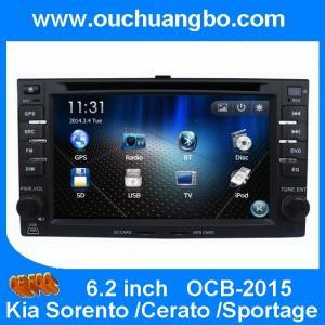 China Ouchuangbo Car DVD Radio Multimedia for Kia Sorento Cerato Sportage USB SD Israel map wholesale