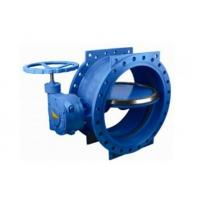 "China 125 Lbs / 200psi Double Eccentric Butterfly Valve With Handwheel 2"" - 120"" Size wholesale"