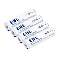 Buy cheap 1.5 V Lithium Ion Dry Rechargeable Primary Cell Battery 4 Pack AA Size 3000mAh from wholesalers