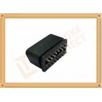 China 24V Universal Obd2 Connector / Car Diagnostic Connector Nickel Or Golden Plated Pins wholesale