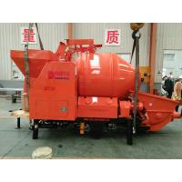 China Hot Sale - Concrete Mixer with Pump/Concrete Mixing Pump with 100m Steel Delivery Pipe Line wholesale