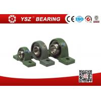 China Removal Double Structure Seal Pillow Block Bearings InterChangeable Solid Base UCP202 Steel Cage on sale