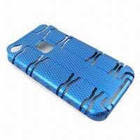 China Aluminum Case for iPhone 4 and 4S, Spider Man Design, Lightweight and Tough Protection wholesale