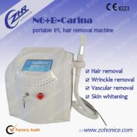 China Skin Rejuvenation Portable IPL Hair Removal Machines With Touch Screen wholesale
