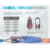 China Mandal fairlead shackle,Marine mooring shackle, Marine mooring shackle for wire rope and fiber rope wholesale