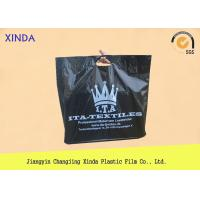 Quality Promo tote die cut 50mic bags handle easy type fashionable for apparel  with hang hole for sale