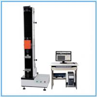 China Fiber Tensile Universal Testing Machine / Manual Tensile Tester With Double Space on sale