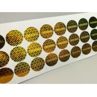 China Gloss Lamination Security Sticker Labels , Custom Size Security Seal Stickers wholesale