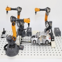 China ABS Engineering Plastics Cnc 6 Axis Mini Robot For Artificial Intelligence wholesale