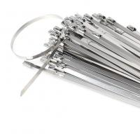 China Ball Locking Stainless Steel Cable Ties 360mm x 4.6mm wholesale