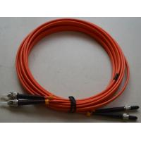 China SMA to ST SM Simplex Fiber Optic Patch Cord with LSZH MM Fiber Cable wholesale
