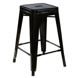 China Replica Bistro Patio Metal Tolix Chairs H65CM / Tolix Marais Counter Stool wholesale