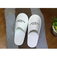 China Washable Ultra Cosy Custom Hotel Slippers Waffle Slippers For 5 Star Hotel on sale