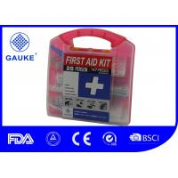 China Square Shape General OSHA ANSI First Aid Kit Fast Aid Box For Adults wholesale