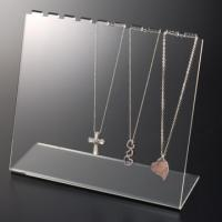 China A3 A4 A5 Frosted Acrylic Jewelry Display Case Holder L Shape wholesale