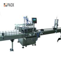 China Corrosive Bleach Industrial Bottling Equipment Smooth And Stable Filling wholesale