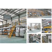 China 5 Layer Corrugated Cardboard Production Line , 80KW Packaging Box Manufacturing Machine wholesale
