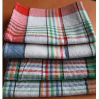 China 50*70Cotton Kitchen Tea Towels yarn-dyed plaid tea towel cover cloth napkins kitchen towel on sale