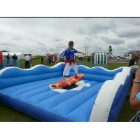 China Wonderful Waterproof Inflatable Surfboard Simulator For Outdoor Blow Up Games wholesale