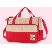 China Multicolored Yummy Mummy Baby Diaper bags Changing with One Inner Pouch on sale