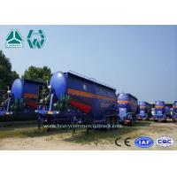 Buy cheap Tri Axle Dry Bulk Cement Tank Semi Trailer 30 Tons Heavy Capacity V Type from wholesalers