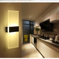 China Square Acrylic LED wall lighting /inside led wall lamps for bedroom or sitting room wholesale
