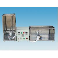 China Electric Wire Vertical Horizontal Flammability Tester 20 Degree With Gas Control Valve wholesale