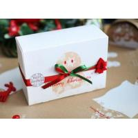 China Customized Paper Small Christmas Gift Boxes / Xmas Wrapping Boxes wholesale