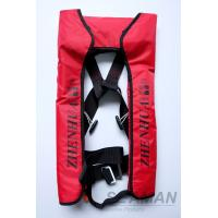 China CCS Adult Automatic Inflatable Life Jackets Vests 210D Nylon TPU Coating 150N Lifejacket wholesale