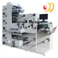China 3 Phase 380V 50HZ 5 Color Flexographic Printing Machine With Uv Aire wholesale