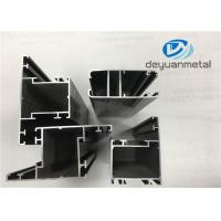 Quality Customized Thickness Casement Aluminium Window Profiles Anodizing Extruded for sale