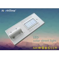 China Photovoltaic System Solar Powered Road Lights , Energy Efficient Led Street Light wholesale