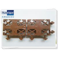 China PB-17 Interlocking plastic base deck tile wholesale