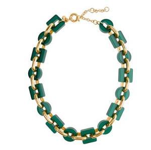 """China 17"""" Shiny Resin Link Necklace OBR0007 on sale"""