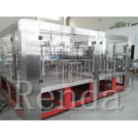 China CE Certification Small Carbonated Drink Filling Machine 8000BPH / 10000BPH wholesale