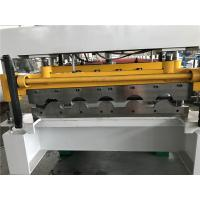 China Wall Panel Structure Tile Roll Forming Machine 70mm Shaft / 40GP Container wholesale