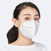 Buy cheap KN95 GB2626 Non Woven 4 Layer Disposable Face Mask With Earloop from wholesalers
