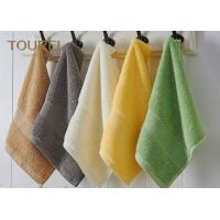 China Embroidery Hotel Face Towel Bright Color 100% Cotton Face Flannels wholesale