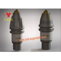 China Piling Tools Auger Teeth Replacement , Eight Piece Robe Bullet Teeth For Augers on sale