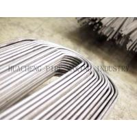 China ERW Weld Steel U Bend Tube For Heat Exchanger OD 25.4mm BS3059 / BS6323-4 / BS3602-1 on sale