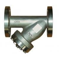 China Water Meter Steam Strainer With Plug and Drain Valve PN16 / Y Type Filter wholesale